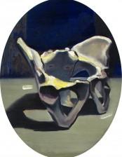 Das Beckchen, 40x30 cm, oil on primed cardboard, 2010