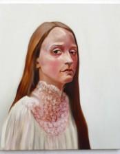 Eisblume, 50x60 cm, oil on canvas, 2013