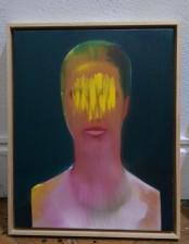 Das Licht ihrer Augen, 50x40cm, oil on canvas