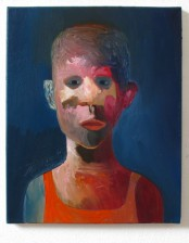 Jan aus Prohlis, 40x50 cm, Oil on Canvas, 2012, private collection, Germany.