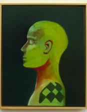 Kopf I, 40x50 cm, Oil on Canvas, 2012, private collection