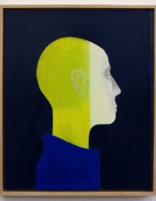 Kopf II, 40X50 cm, Oil on Canvas, 2012, private collection