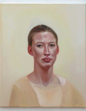 Swaantje, 50x60 cm, Oil on Canvas, 2014 private collection, Germany