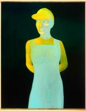 Figur I, 100x 80 cm cm, Öl auf Leinwand, 2012, Privatsammlung, Deutschland