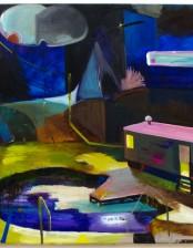 Alles deutet auf Nichts hin, 80x 120 cm, oil on canvas, 2011, private collection, Germany