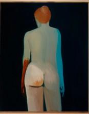 Figur II, 80x100 cm, Oil on Canvas, 2012