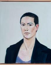 Fräulein M., 50x60 cm, Oil on canvas, 2013