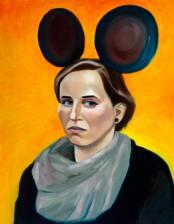 Königin Minni, 50x 60 cm, Oil on canvas, 2013