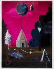 Lasst die Kinder nicht allein! 40x 30 cm, oil on canvas, 2011