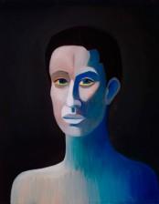 Die Blauer Kopf, 40x50 cm, oil on canvas, 2012