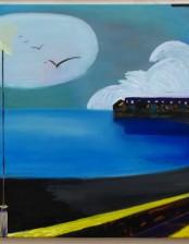 Strand von T., 90X 120cm, oil on canvas, 2011