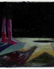 Ursache und Wirkung, 24x30 cm, oil on canvas, 2011