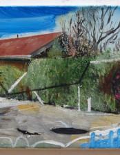 Was ist denn hier passiert?, 24x 30 cm, oil on canvas, 2011