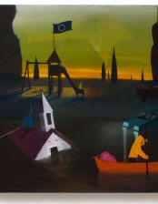 Abendstimmung, 50x 60 cm, oil on canvas, 2012, private collection, Saudi- Arabia