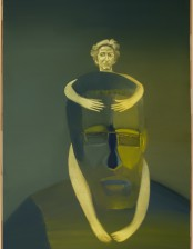 Christopherus, 270x 160 cm, oil on canvas, 2014