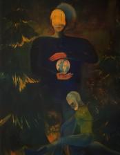 Erdenbehüter, 300x 200 cm, oil on canvas, 2014-2015